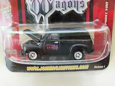 JOHNNY LIGHTNING - WICKED WAGONS - (1950) '50 CHEVY PANEL VAN - DIECAST