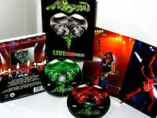 POISON LIVE RAW AND UNCUT  DVD & CD 2 SET LIVE CONCERT $29 NEW, 698268698093