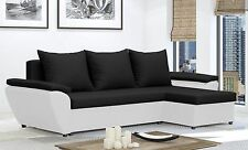 Corner Sofa Bed JACOB -  with storage - Brand New   - Washable Farbic