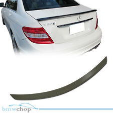 Mercedes Benz W204 C300 C-Class Boot Trunk Spoiler 08 13