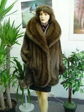 NEW CANADIAN SABLE FUR COAT WOMEN
