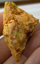 China 100% Natural Raw Rough Pure Orpiment Mineral Specimen 103.50ct or 20.70g
