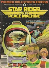 STAR RIDER & PEACE MACHINE #1 (1982) Canadian comic fanzine Richard Comely FINE