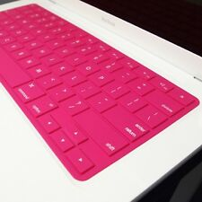 SL HOT PINK Silicone Keyboard Cover for NEW Macbook 13""