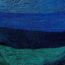 Rowan ::Fine Art #305:: wool mohair silk sock yarn 50% OFF! Kingfisher