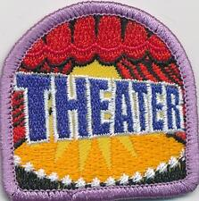 Girl Boy Cub THEATER Fun Patches Crests Badges SCOUT GUIDE trip tour visit show