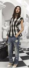 "Brand New SASS & BIDE  ""Reward Good Behaviour""  Check Taffeta Top -  Size Large"