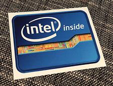 Intel Inside - Cool Bumper Sticker - Car, Wall or Case Decal Sticker - CPU