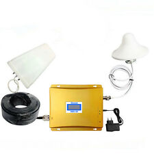 GSM WCDMA 900/2100MHz 3G Dual Band Mobile Cell Phone Signal Booster Repeater