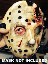 Jason Voorhees Hockey Mask eye insert Friday 13th Halloween costume Prop