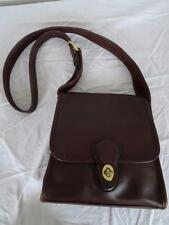 COACH D80-9038  Vintage Leather Crossbody BAG   Brown       006 G