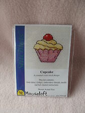 MOUSELOFT STITCHLETS CROSS STITCH KIT ~ CUPCAKE ~ NEW