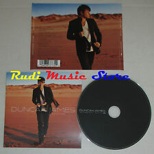 CD DUNCAN JAMES Future past 2006 eu EMI 0094636377322 mc lp dvd