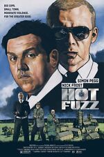 HOT Fuzz alternativa Film Poster Stampa Art by ROBY AMOR NO./60 NT MONDO