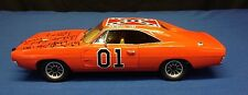 Catherine Bach Tom Wopat John Schneider Signed Dukes of Hazzard General Lee PSA