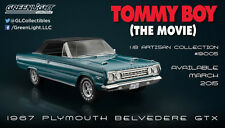 1:18 Artisan Collection Tommy Boy 1995 1967 Plymouth Belvedere GTX