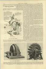 1920 Great Lake Tasmania Hydroelectric Works Turbine Control
