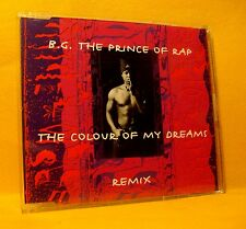 MAXI Single CD B.G. THE PRINCE OF RAP The Colour Of My Dreams 3TR 1994 eurodance