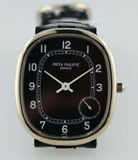 Amazing Patek Philippe Ellipse 5028G-001. White gold. Excellent! With papers!