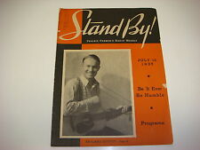 Stand By! Prairie Farmer's Radio Weekly Magazine, July 13, 1935, Skyland Scotty
