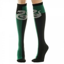 SLYTHERIN HOUSE - Harry Potter Women's Knee High Socks 1 Pair Cosplay Bioworld