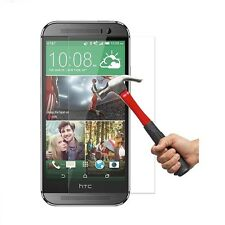 0.26mm HTC One M8 9H Real Premium Tempered Glass Screen Protector Guard Film New