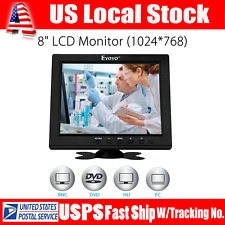 "S801H HD 8"" Color LCD Display Monitor VGA BNC Audio HDMI Input High Resolution"