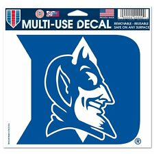 "DUKE BLUE DEVILS ULTRA DECAL TEAM LOGO 5""X6"" CLEAR WINDOW FILM"