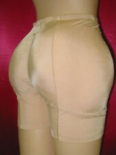 NEW!PADDED REAR BUTT+ HIPS ENHANCER SHAPER GIRDLE  XL/8 NUDE