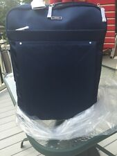 "Tumi Voyageur Super Leger Packing Case 21""  Carry on Bag Baltic BLUE"