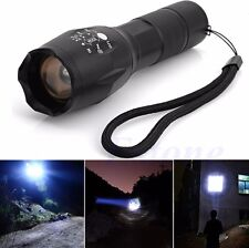 Powerful Zoomable 5 Modes 5000Lumen XML T6 LED Flashlight Torch Lamp Light 18650