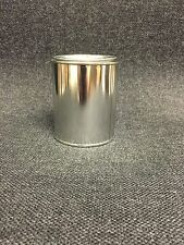 PINT SIZE EMPTY METAL PAINT CANS WITH LIDS (12 CANS AND 12 LIDS)