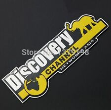 Discovery Channel 3D Car Decal Sticker Metal Emblem Badge Logo Auto Aloy