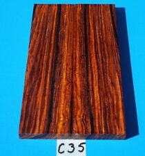 COLORFUL COCOBOLO KNIFE BLANK HANDLE SCALES~EXOTIC LUMBER//EXOTIC WOOD