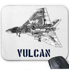 VULCAN FUGHTER JET - MOUSE MAT/PAD AMAZING DESIGN