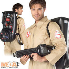 GHOSTBUSTERS 80'S Costume adulto uomo GHOSTBUSTER anni'80 Halloween Costume