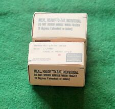1/6 scale Meals Ready Eat MRE rations food boxes x 2