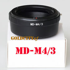 Minolta MD Lens to Micro Four Thirds M4/3 Adapter G5 GX1 E-P5 OM-D MD-M4/3