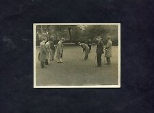 C1930's Original Photo - Group of Men Playing Pitch/Putt.