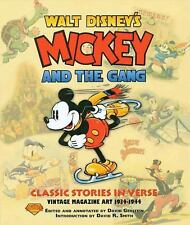 Mickey and the Gang : Classic Stories in Verse David Gerstein (2005,Paperback)