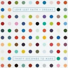 THIRTY SECONDS TO MARS - LOVE LUST FAITH + DREAMS  CD METAL ROCK POP NEU