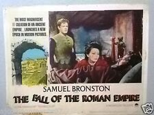 (Set of 5) The Fall of the Roman Empire (SOPHIA LOREN) 14x11 Org Lobby Cards 60s