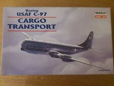 1:144 Minicraft no. 14440 Boeing USAF C-97 Cargo Transport. Kit NIP