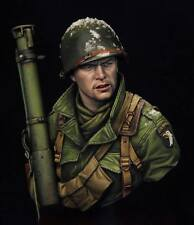 Young Mins Easy Company Bastogne with Bazooka 1944 1/10 unpainted bust kit
