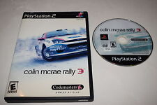 Colin McRae Rally 3 Sony Playstation 2 PS2 Game Disc w/ Case