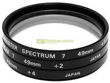 49mm. Set aggiuntivi macro Promaster Spectrum 7  +1 +2 +4 diottrie