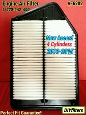 AF6282 Premium Accord Engine Air Filter for New 2013-16 4 cyl. 17220-5A2-A00