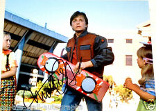 Michael J Fox Back To The Future Signed Autographed 11X14 Photo! W/Proof +C.O.A!