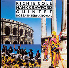 "SEALED Richie Cole & Hank Crawford [+ E. REMLER] CD ""BOSSA INTERNATIONAL"" , 1990"