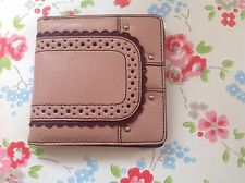 ⭐️MIMCO⭐️BROGUE PETITE Vintage Pink Leather Purse Wallet Bag⭐️